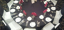 Matching table linens with surpast elegance and style